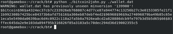 How to Lose Your Bitcoins: Part 2 (Cracking Bitcoin Core